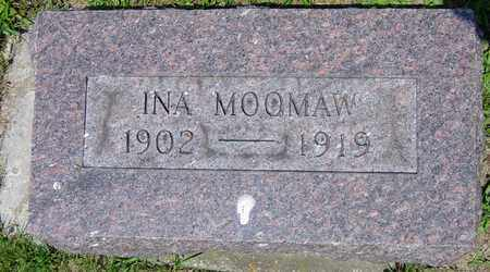 MOOMAW, INA - Tuscarawas County, Ohio   INA MOOMAW - Ohio Gravestone Photos