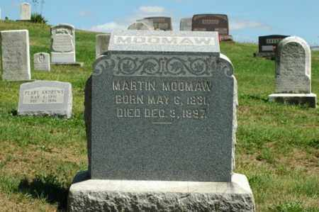MOOMAW, MARTIN - Tuscarawas County, Ohio | MARTIN MOOMAW - Ohio Gravestone Photos