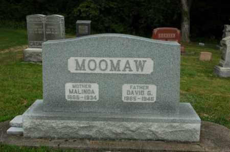 MOOMAW, DAVID G. - Tuscarawas County, Ohio | DAVID G. MOOMAW - Ohio Gravestone Photos
