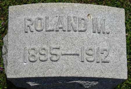 MOOMAW, ROLAND M. - Tuscarawas County, Ohio   ROLAND M. MOOMAW - Ohio Gravestone Photos
