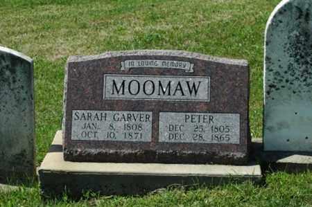 MOOMAW, SARAH - Tuscarawas County, Ohio | SARAH MOOMAW - Ohio Gravestone Photos
