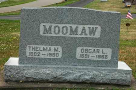 MOOMAW, THELMA - Tuscarawas County, Ohio | THELMA MOOMAW - Ohio Gravestone Photos