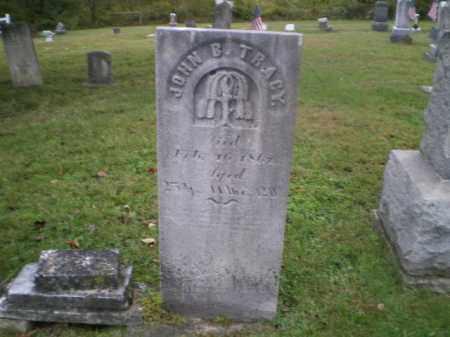 TRACY, JOHN B - Tuscarawas County, Ohio | JOHN B TRACY - Ohio Gravestone Photos