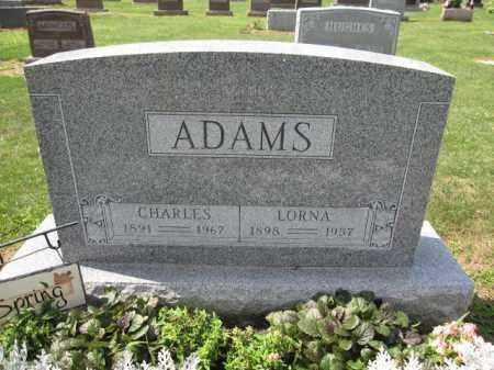 ADAMS, LORNA - Union County, Ohio | LORNA ADAMS - Ohio Gravestone Photos
