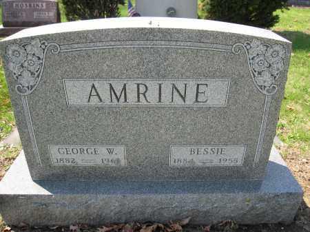 AMRINE, GEORGE W. - Union County, Ohio | GEORGE W. AMRINE - Ohio Gravestone Photos