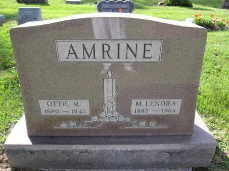 AMRINE, OTTIE M. - Union County, Ohio | OTTIE M. AMRINE - Ohio Gravestone Photos