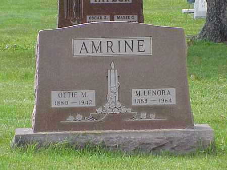 AMRINE, M. LENORA - Union County, Ohio   M. LENORA AMRINE - Ohio Gravestone Photos