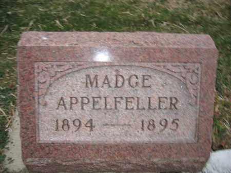 APPELFELLER, MADGE - Union County, Ohio   MADGE APPELFELLER - Ohio Gravestone Photos