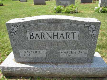 BARNHART, WALTER C. - Union County, Ohio | WALTER C. BARNHART - Ohio Gravestone Photos