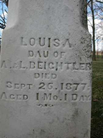 BEICHTLER, LOUIS A. - Union County, Ohio | LOUIS A. BEICHTLER - Ohio Gravestone Photos