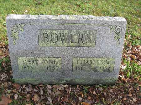 BOWERS, CHARLES W. - Union County, Ohio | CHARLES W. BOWERS - Ohio Gravestone Photos