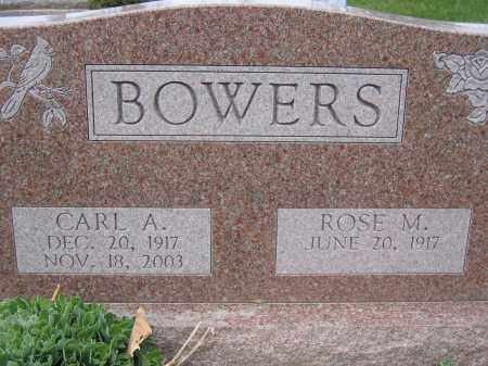 BOWERS, ROSE M - Union County, Ohio | ROSE M BOWERS - Ohio Gravestone Photos