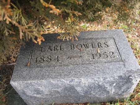 BOWERS, EARL - Union County, Ohio   EARL BOWERS - Ohio Gravestone Photos