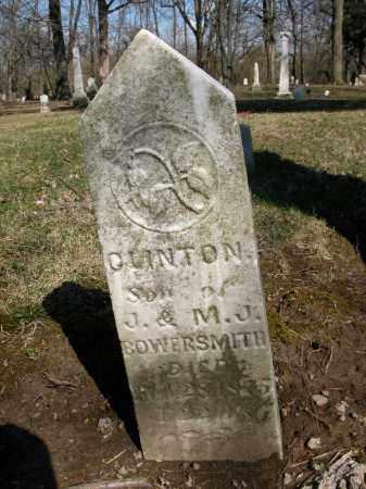 BOWERSMITH, CLINTON - Union County, Ohio | CLINTON BOWERSMITH - Ohio Gravestone Photos