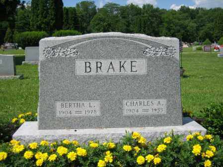 HAGGARD BRAKE, BERTHA L. - Union County, Ohio | BERTHA L. HAGGARD BRAKE - Ohio Gravestone Photos