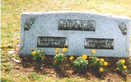 BRAKE, EMMA ANN - Union County, Ohio | EMMA ANN BRAKE - Ohio Gravestone Photos