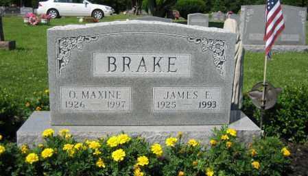 BRAKE, OTTIE MAXINE TAYLOR - Union County, Ohio | OTTIE MAXINE TAYLOR BRAKE - Ohio Gravestone Photos