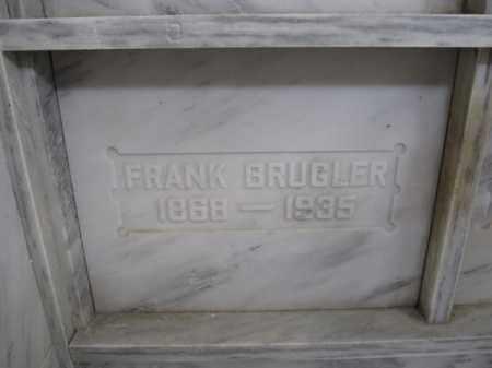 BRUGLER, FRANK - Union County, Ohio   FRANK BRUGLER - Ohio Gravestone Photos