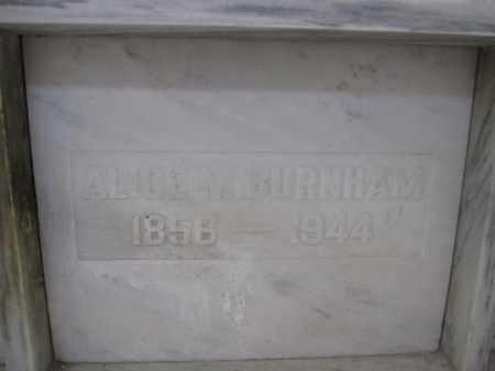 BURNHAM, ALICE M. - Union County, Ohio | ALICE M. BURNHAM - Ohio Gravestone Photos