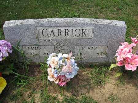 CARRICK, EMMA L. - Union County, Ohio | EMMA L. CARRICK - Ohio Gravestone Photos