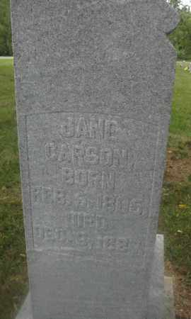 CARSON, EBENEZER B. - Union County, Ohio | EBENEZER B. CARSON - Ohio Gravestone Photos