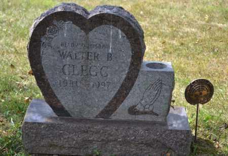 CLEGG, WALTER B. - Union County, Ohio   WALTER B. CLEGG - Ohio Gravestone Photos