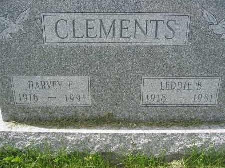 CLEMENTS, LEDDIE B. - Union County, Ohio | LEDDIE B. CLEMENTS - Ohio Gravestone Photos