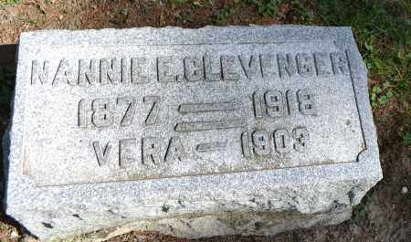 CLEVENGER, VERA - Union County, Ohio | VERA CLEVENGER - Ohio Gravestone Photos