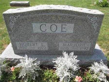 COE, MARJORIE - Union County, Ohio | MARJORIE COE - Ohio Gravestone Photos
