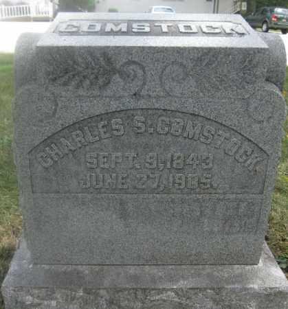 COMSTOCK, CHARLES S. - Union County, Ohio | CHARLES S. COMSTOCK - Ohio Gravestone Photos