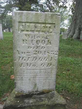 COOK, JENNET - Union County, Ohio | JENNET COOK - Ohio Gravestone Photos