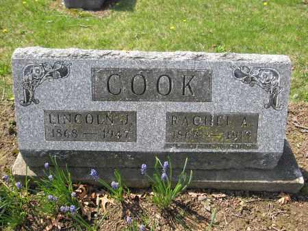 COOK, LINCOLN J. - Union County, Ohio | LINCOLN J. COOK - Ohio Gravestone Photos