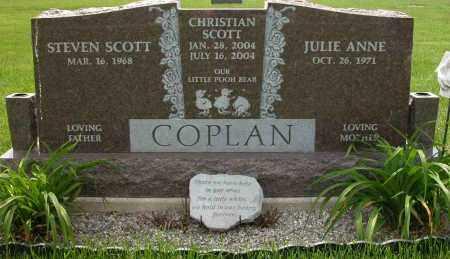 COPLAN, CHRISTIAN SCOTT - Union County, Ohio | CHRISTIAN SCOTT COPLAN - Ohio Gravestone Photos