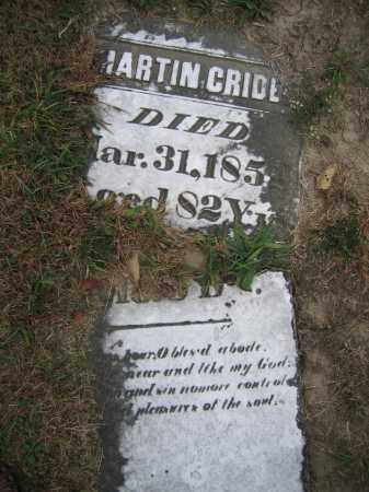 CRIDER, MARTIN - Union County, Ohio | MARTIN CRIDER - Ohio Gravestone Photos