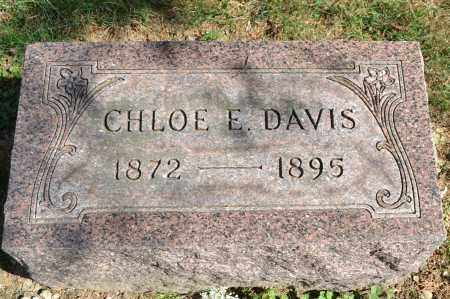 DAVIS, CHLOE E. - Union County, Ohio | CHLOE E. DAVIS - Ohio Gravestone Photos