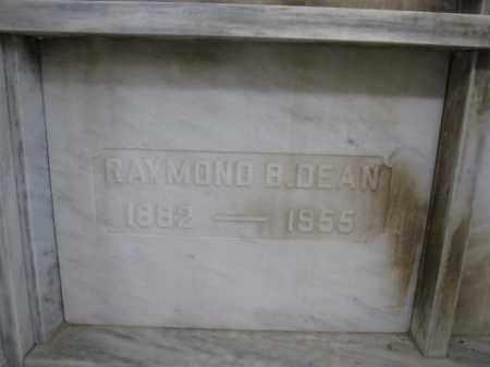 DEAN, RAYMOND B. - Union County, Ohio | RAYMOND B. DEAN - Ohio Gravestone Photos