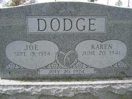 DODGE, KAREN - Union County, Ohio   KAREN DODGE - Ohio Gravestone Photos