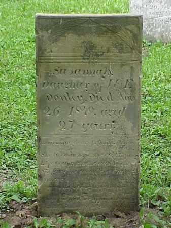 DONLEY, SUSANNAH - Union County, Ohio   SUSANNAH DONLEY - Ohio Gravestone Photos