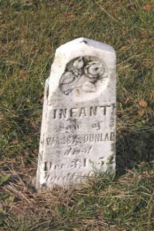 DUNLAP, INFANT - Union County, Ohio | INFANT DUNLAP - Ohio Gravestone Photos
