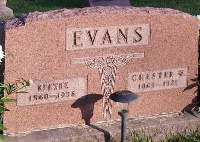 EVANS, CHESTER W. - Union County, Ohio | CHESTER W. EVANS - Ohio Gravestone Photos