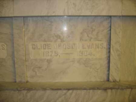 EVANS, CLIDE JUDSON - Union County, Ohio | CLIDE JUDSON EVANS - Ohio Gravestone Photos