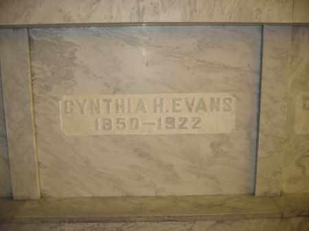 EVANS, CYNTHIA H. - Union County, Ohio | CYNTHIA H. EVANS - Ohio Gravestone Photos
