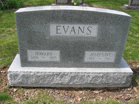 EVANS, HOWARD - Union County, Ohio | HOWARD EVANS - Ohio Gravestone Photos