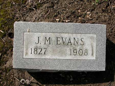EVANS, J.M. - Union County, Ohio | J.M. EVANS - Ohio Gravestone Photos