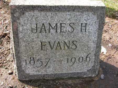 EVANS, JAMES H - Union County, Ohio | JAMES H EVANS - Ohio Gravestone Photos