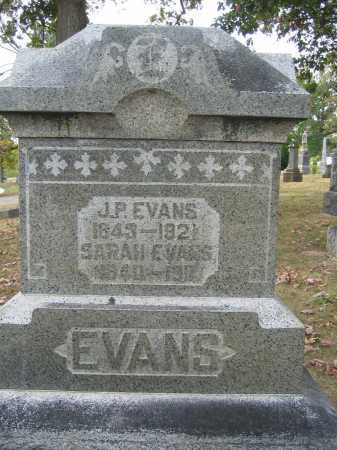 EVANS, SARAH - Union County, Ohio | SARAH EVANS - Ohio Gravestone Photos