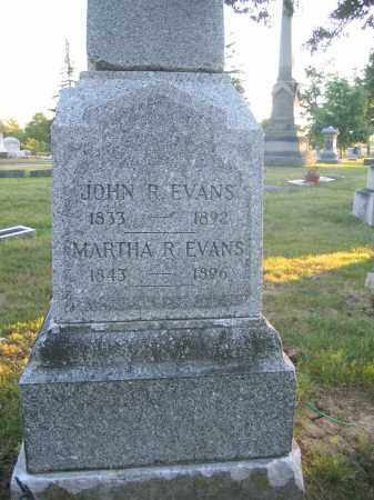 EVANS, JOHN R. - Union County, Ohio | JOHN R. EVANS - Ohio Gravestone Photos