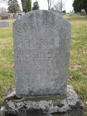 EVANS, PARTHEME - Union County, Ohio | PARTHEME EVANS - Ohio Gravestone Photos