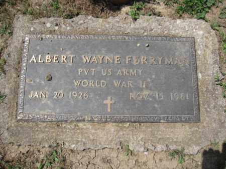 FERRYMAN, ALBERT WAYNE - Union County, Ohio | ALBERT WAYNE FERRYMAN - Ohio Gravestone Photos