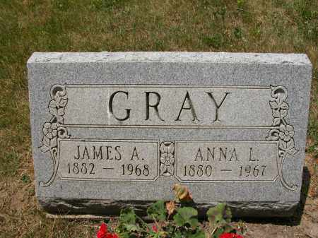 GRAY, ANNA L. - Union County, Ohio | ANNA L. GRAY - Ohio Gravestone Photos